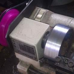 Unimat3_125pct_M14_pulley_02.jpg Télécharger fichier SCAD gratuit Poulie basse et haute vitesse Emco Unimat 3 • Design pour impression 3D, 1944GPW