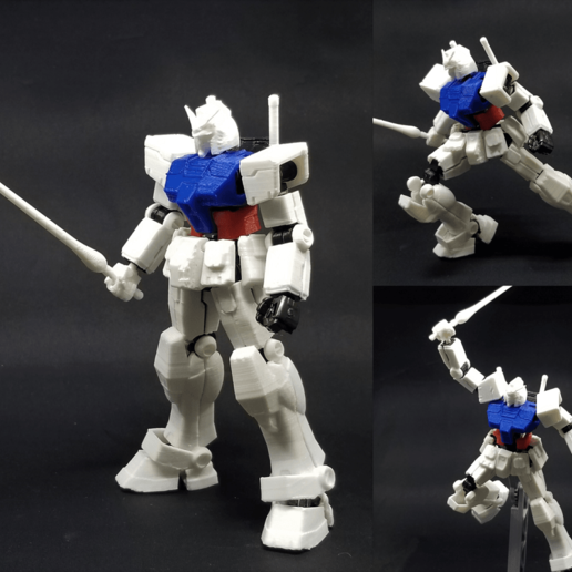 RX-78-2 armor.png Download STL file X-Frame Armor #1 (inspired by RX-78-2 Gundam) • 3D print model, chiz-m