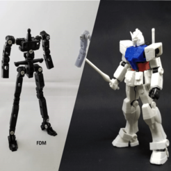 RX-78-2 bundle.png Download STL file X-Frame + RX-78-2 Gundam Armor Bundle • 3D printing design, chiz-m