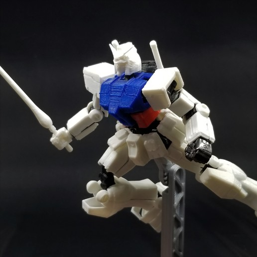 2020-11-09 22.41.54.jpg Download STL file X-Frame Armor #1 (inspired by RX-78-2 Gundam) • 3D print model, chiz-m
