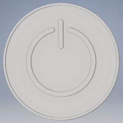 Screenshot (70).png Download free OBJ file Power - Coaster • 3D print object, mthw23