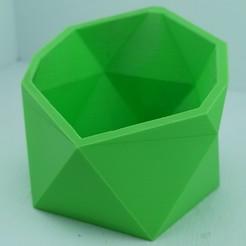 1.jpg Download GCODE file Geometric flowerpot • 3D printable template, PrintYour3Dream