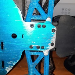 20201116_120729[1].jpg Download STL file Redcat vortex ss rear fork • 3D printable template, Hermstig