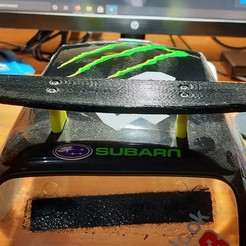 20201116_005906[1].jpg Download STL file Spoiler for RC cars 1/10th scale • 3D printable design, Hermstig