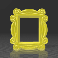 Marco 1.png Download STL file Sight glass frame Friends Series Monica Rachel's Door • 3D printable object, SergioGomez