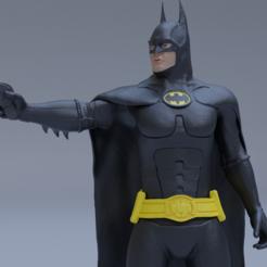 batman2.png Télécharger fichier STL Le retour de Batman • Objet imprimable en 3D, fethidogan3d