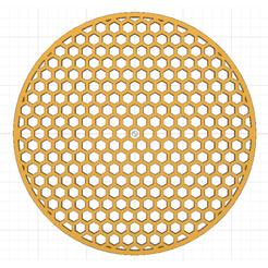 Polygones.png Télécharger fichier STL Pochoir Gâteau • Objet à imprimer en 3D, MAKOSHOW