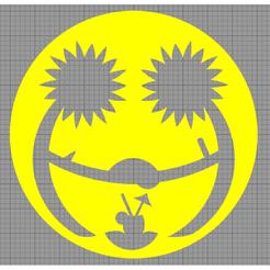 Capture.png Télécharger fichier STL Pochoir Gâteau • Objet à imprimer en 3D, MAKOSHOW
