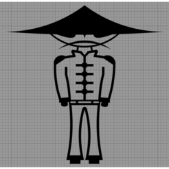 Oncle Ping.png Télécharger fichier STL Applique Murale Personnage • Plan pour imprimante 3D, MAKOSHOW