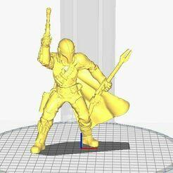 Captura.JPG Download STL file Mandalorian • 3D printer design, theholeman