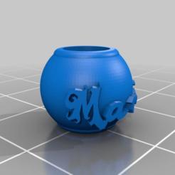 5ed3cfa6c12edf8df4bd5f154d4f8e2d.png Download free STL file My Customized Bracelet Charm • 3D print template, tts_mateo