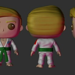 sides.jpg Download STL file Karate boy funko • 3D printer model, Pishonsito