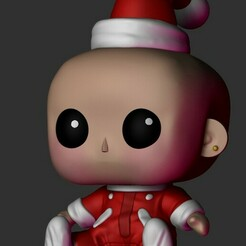 3237.jpg Download STL file Christmas baby funko • 3D printing design, Pishonsito