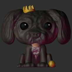 Thor.jpg Télécharger fichier STL Chibi Dog v2 • Modèle pour imprimante 3D, Pishonsito