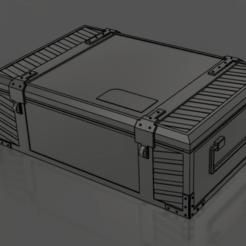 Captura de pantalla (100).png Télécharger fichier STL gratuit Boîte à munitions (V.1 et V.2) - WarHammer 40k • Plan pour imprimante 3D, YOYO3D