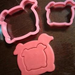 Pigs.jpg Download STL file Cookie cutters set • 3D printer object, MGus