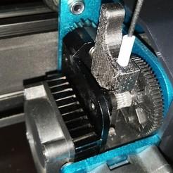 Pic1.jpg Télécharger fichier STL Déclencheur d'extrudeuse d'artillerie • Plan imprimable en 3D, MGus
