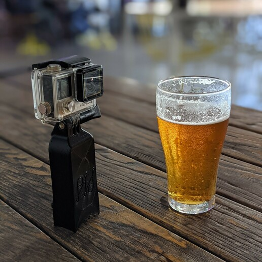 PXL_20201210_074316531.PORTRAIT.jpg Download STL file Camera float and stand - GoPro Insta360 and more • 3D printable object, PHerault