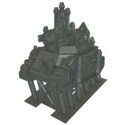 LN_HTransport1.jpg Download free OBJ file Laser Nun - Heavy Transport - 6mm • Model to 3D print, MoonJammy