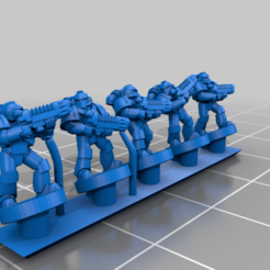 PlateArmour_Energy.png Download free STL file Galactic Crusaders - Special Weapons - 6-8mm • 3D print design, MoonJammy