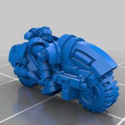 NoSup_B_R_P.png Download free STL file Galactic Crusaders - Bike - 6-8mm • Template to 3D print, MoonJammy