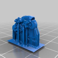 Heavy_Bike_Rifle_Plate.png Download free STL file Galactic Crusaders - Heavy Bike - 6-8mm • 3D print object, MoonJammy