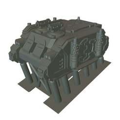 LN_Transport1.jpg Download free OBJ file Laser Nun - Transport - 6mm • 3D printable model, MoonJammy