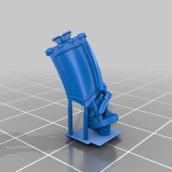 PlateArmourCommand_Banner_Jet.png Download free STL file Galactic Crusaders - Plate Armour Command - 6-8mm • Template to 3D print, MoonJammy