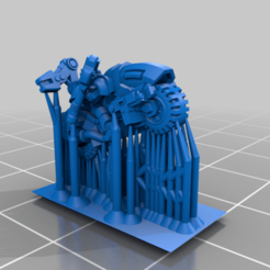 Bike_Tech_Plate.png Download free STL file Galactic Crusaders - Bike Command - 6-8mm • Design to 3D print, MoonJammy