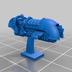 NoSup_AGB_R_P.png Download free STL file Galactic Crusaders - Anti Gravity Bike - 6-8mm • 3D printer object, MoonJammy