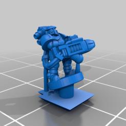SegmentedArmour_Heavy_Energy.png Download free STL file Galactic Crusaders - Anti Tank Heavy Weapons - 6-8mm • 3D printing design, MoonJammy