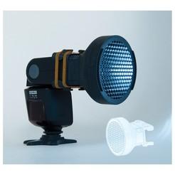 Copertine 12.jpg Download STL file Adaptable Flash Grid for cameras • 3D print design, Biacco