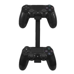 2 controller stand 1.jpg Download free STL file PS4 controller wall mount stand holder for Sony PlayStation 4 dualshock 4 Hanger • 3D printing object, EYS