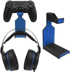 Blue cults main.jpg Télécharger fichier STL Support pour écouteurs PS4 • Modèle pour impression 3D, EYS