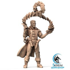 1.jpg Download STL file Pre-supported 3D printable model of Reez the XII-th Arcana • Model to 3D print, SignumWorkshop