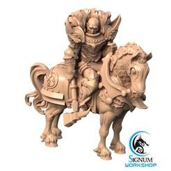 6.jpg Download STL file Pre-supported 3D printable model of Commander Ajax • 3D printable object, SignumWorkshop
