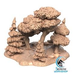 1.jpg Download STL file Pre-supported 3D printable model of Forest • 3D printing design, SignumWorkshop
