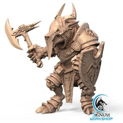 2.jpg Download STL file Pre-supported 3D printable model of Roar Ironsides • 3D print model, SignumWorkshop