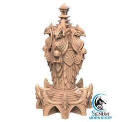1.jpg Download STL file Pre-supported 3D printable model of Magical Spire • 3D printable template, SignumWorkshop