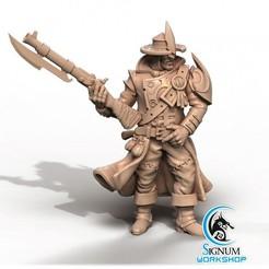 720X720-1-1 (1).jpg Download STL file Pre-supported 3D printable model of Herrick, 17th Infantry Regiment • 3D printer design, SignumWorkshop