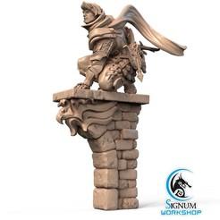 1.jpg Download STL file Pre-supported 3D printable model of Daniel, Vallor's Hawk • 3D print template, SignumWorkshop