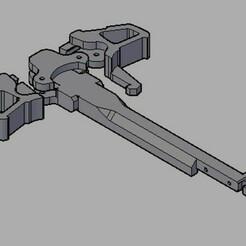 charging handle jg.jpg Download STL file Custom JG/E&C Charging Handle • 3D printable design, actsalgado