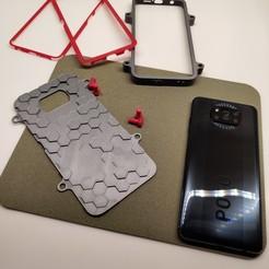 "foto_1.jpg Download STL file Case ""Giant's Causeway"" for POCO X3 NFC • 3D printer design, kirasmirnov"