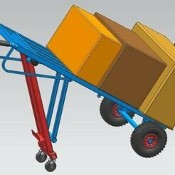 1.jpg Download STL file Handle Truck For Workshop (Trolley) • 3D printer model, yashar20