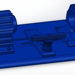01.png Download STL file MINI WOOD LATHE - MINI LATHE WOODWORKING • 3D printing model, jrdelafuentech