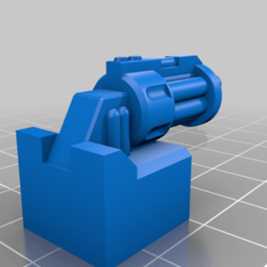 STL_TITAN_MASTER_GAT.png Download free STL file Titan Master Claw for Seacons • Template to 3D print, dencio333x