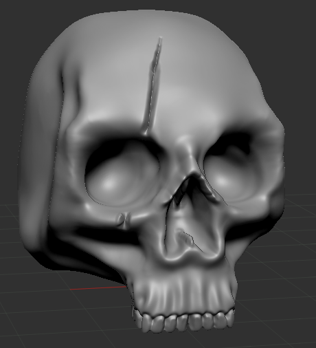 Skullpic2.PNG Download free STL file Human Skulls Pack • 3D print template, DragonFodderGaming
