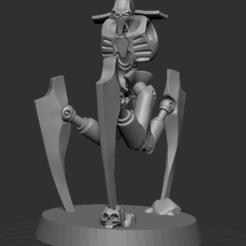 NECMECHPIC1.PNG Download STL file Necmech Warrior Conversion Set • 3D printer template, DragonFodderGaming