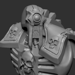 NECMECHOBLITERATORpic5.PNG Download STL file Necmech Obliterator Conversion Set • 3D printable design, DragonFodderGaming