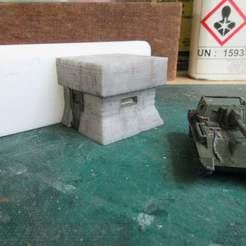 IMG_2485.JPG Télécharger fichier STL gratuit Les bunkers de la digue • Modèle imprimable en 3D, jerrycon